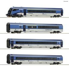 Roco 74064 - 4er Set Railjet CD DC