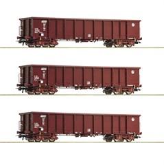 Roco 76091 - 3er Set Eanos HZ Cargo