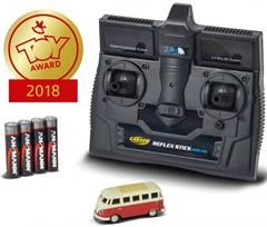 TAMIYA-CARSON 500504119 1:87 VW T1 Samba Bus 2.4G
