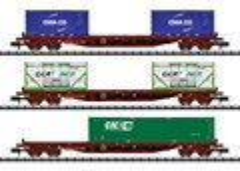 Trix 15072 - Wagenset Gütertransport SNCF