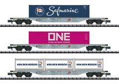 Trix 15228 - Güterwagen-Set Containerverke