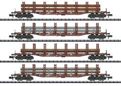 Trix 15484 - Güterwagen-Set Stahltransport