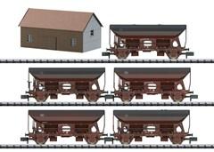 Trix 15536 - Güterwagen-Set Seitenentladewagen