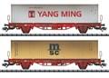 Trix 24139 - Containertragwagen-Set Lgs 580