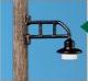 Weinert Modellbau 25341 - Lampe am Echtholzmast, b